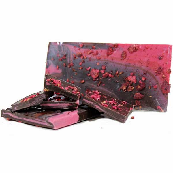 Raspberry Crush Chocolate Bar