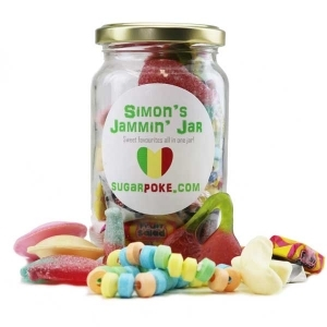 Personalised Jammin' Sweetie Jar